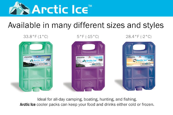 Arctic Ice Outdoor Cooler Packs